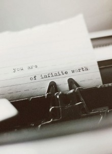 you are of infinite worth